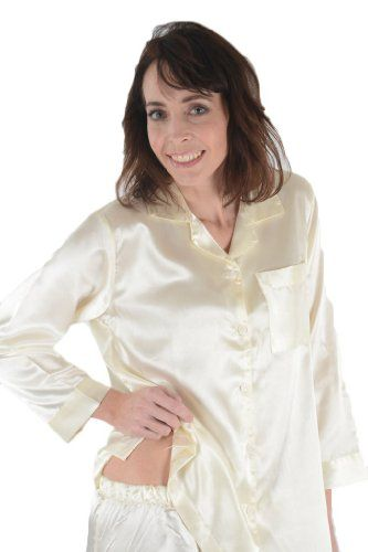 Chinese Pink Satin Pajamas for Woman
