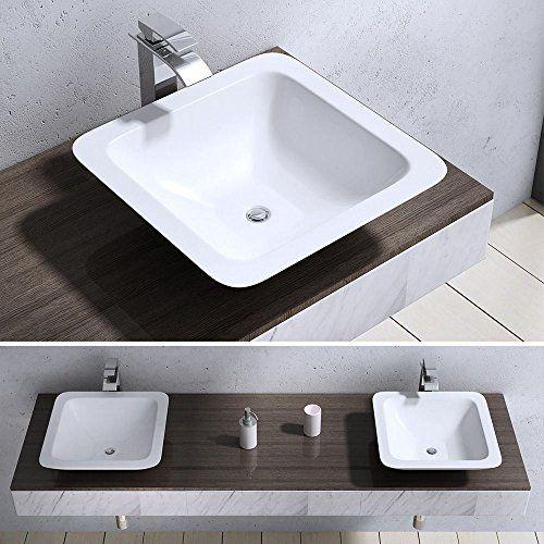 Durovin Bathroom Square Solid Mineral Cast Stone Shelf Co... https://www.amazon.co.uk/dp/B01EI06T48/ref=cm_sw_r_pi_dp_x_6xxgzb4DJBZNK