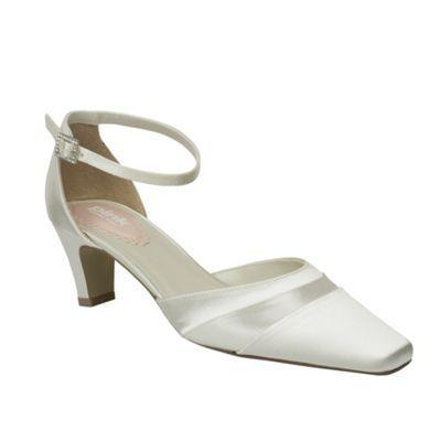 Pink by Paradox London Satin ribbon mid heel shoe- at Debenhams.com