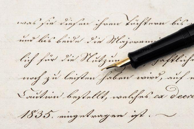 Calligraphic Handwritten Text by LiliGraphie on @creativemarket