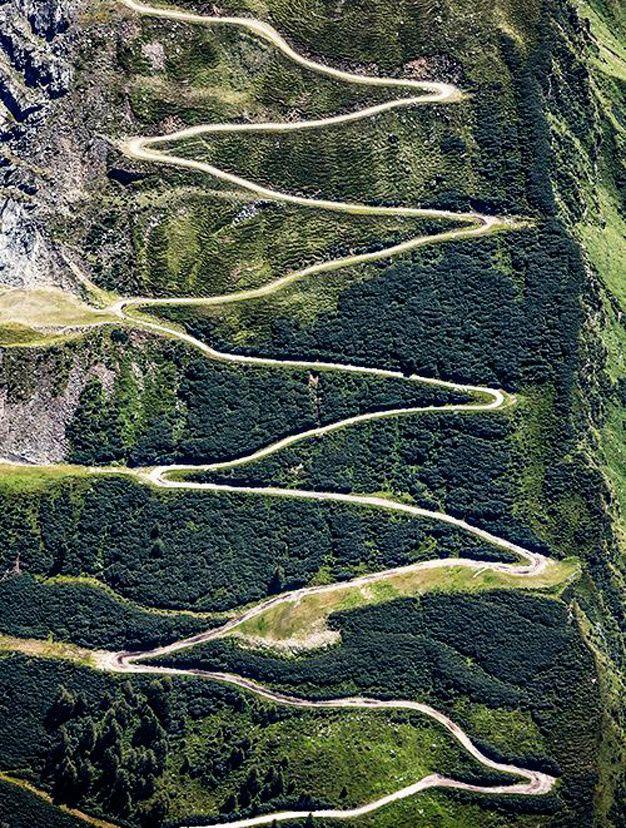 Les routes les plus spectaculaires au monde - Oberfelben Salzbourg Autriche
