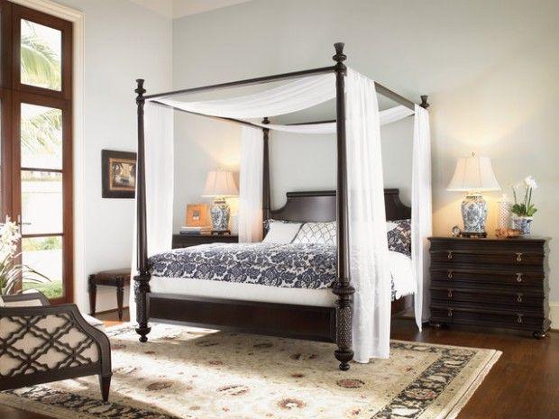 Holen Sie Sich Konigliche Ruhe 20 Romantische Himmelbett Design