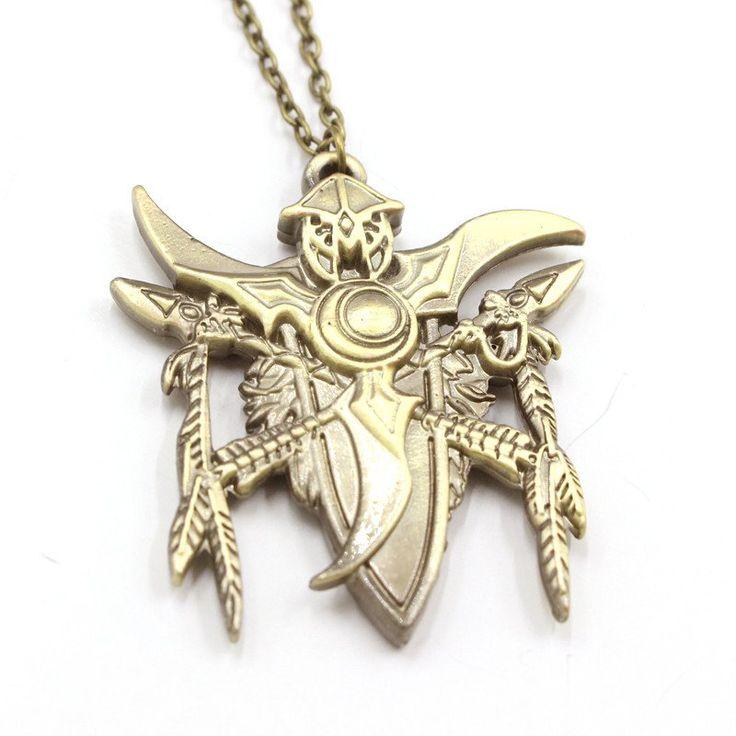 FREE World of Warcraft WoW Night Elf Pendant Necklace #giveaway #freebies #freestuff
