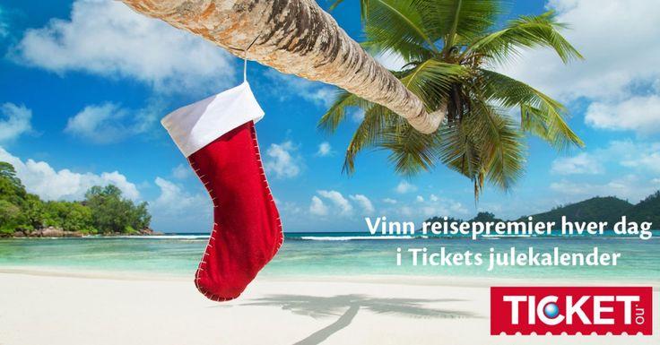 Vinn flotte reisepremier hver dag frem til julaften! Delta i julekalenderen her: http://fb.st/iwo82q
