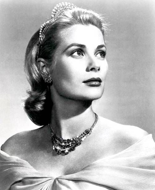GRACE KELLY (Mogambo, The Country Girl, Dial M For Murder, Green Fire, Rear Window and To Catch A Thief; married Prince Rainier III of Monaco and became Her Serene Highness the Princess of Monaco, died in September of 1982 when she suffered a stroke while driving and crashed her car)
