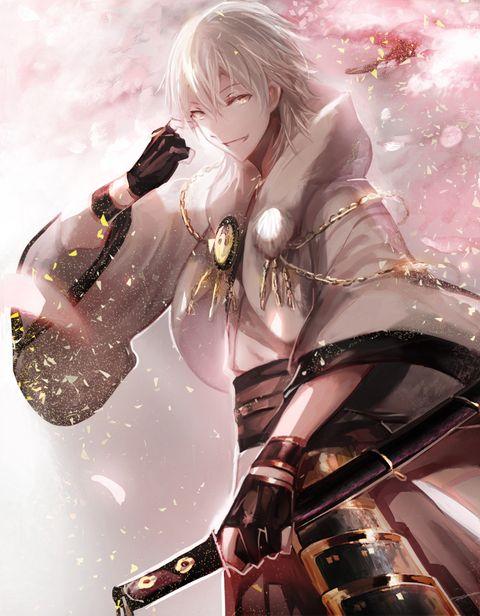 「桜の華」/「覺醒」のイラスト [pixiv]