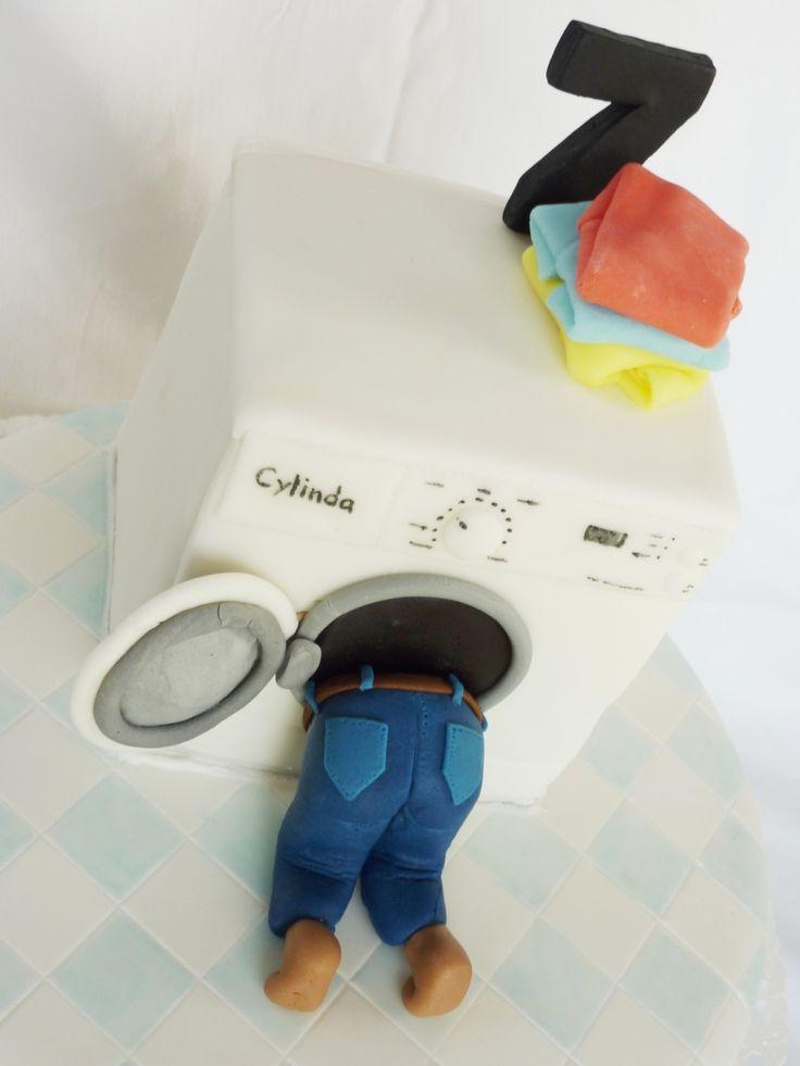 Washing Machine Cake