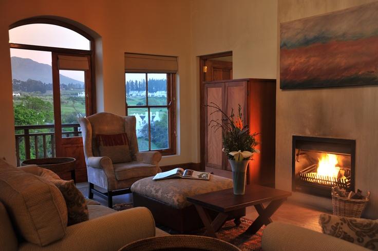 Kleine Zalze Lodge - luxury suite lounge