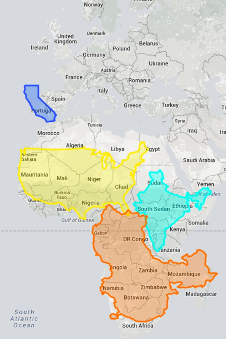True Size Map Proves You ve Been Picturing The Planet All Wrong This World and out of this world Pinterest