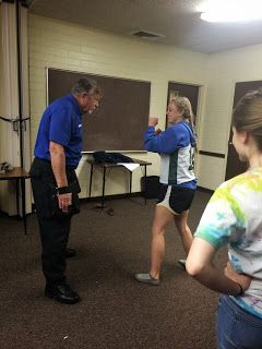 Recently we arranged for our local police department to come do a self-defense presentation for our Young Women. They were booked several...