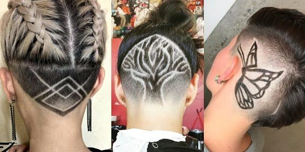 Stylish and Trendy Hair Tattoos!