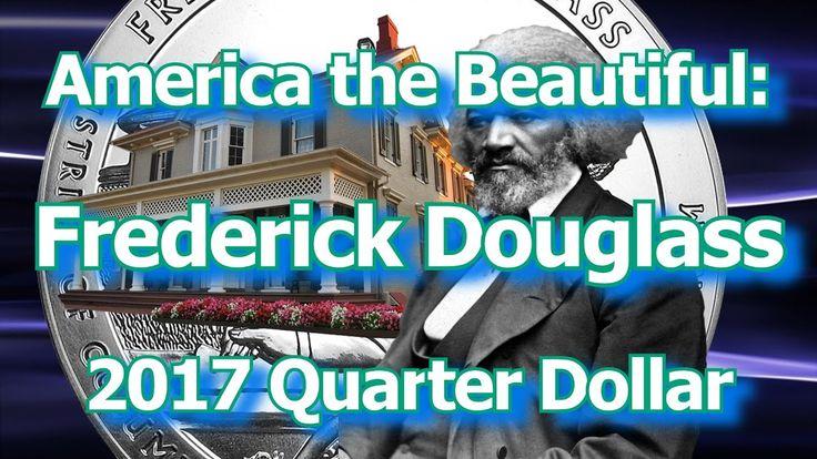 America the Beautiful Frederick Douglass Quarter Dollar Coin 2017 (2)