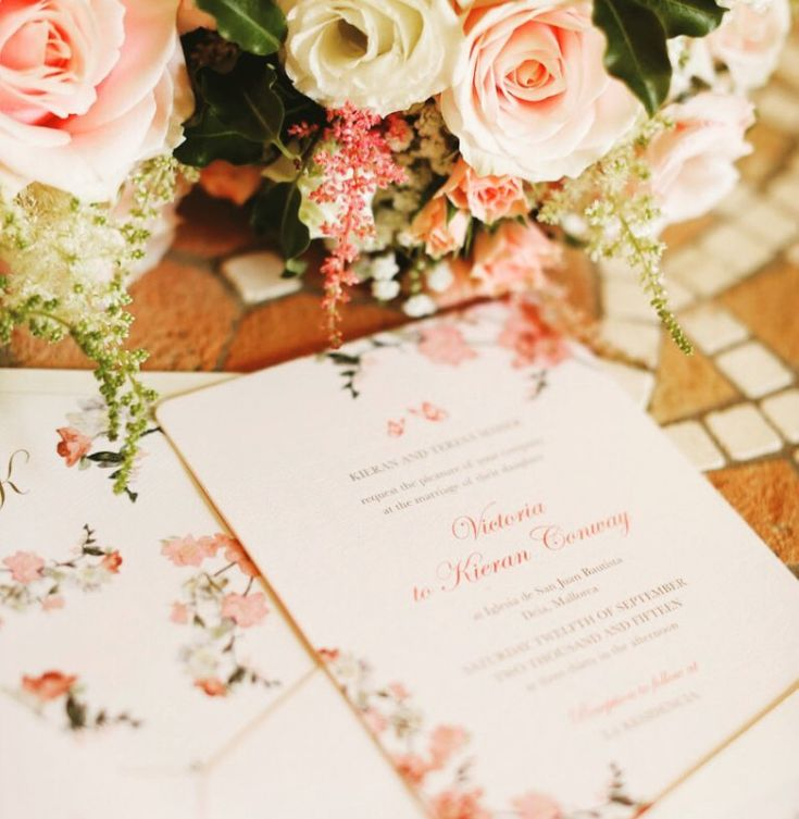 best home printer for printing wedding invitations%0A Our beautiful Sweet Floral design from our Signature Range