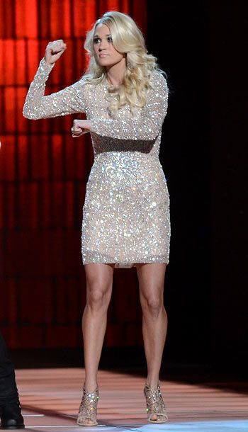 CMA Awards cohost hit some very high fashion notes -- and some that just seemed off; see our report card