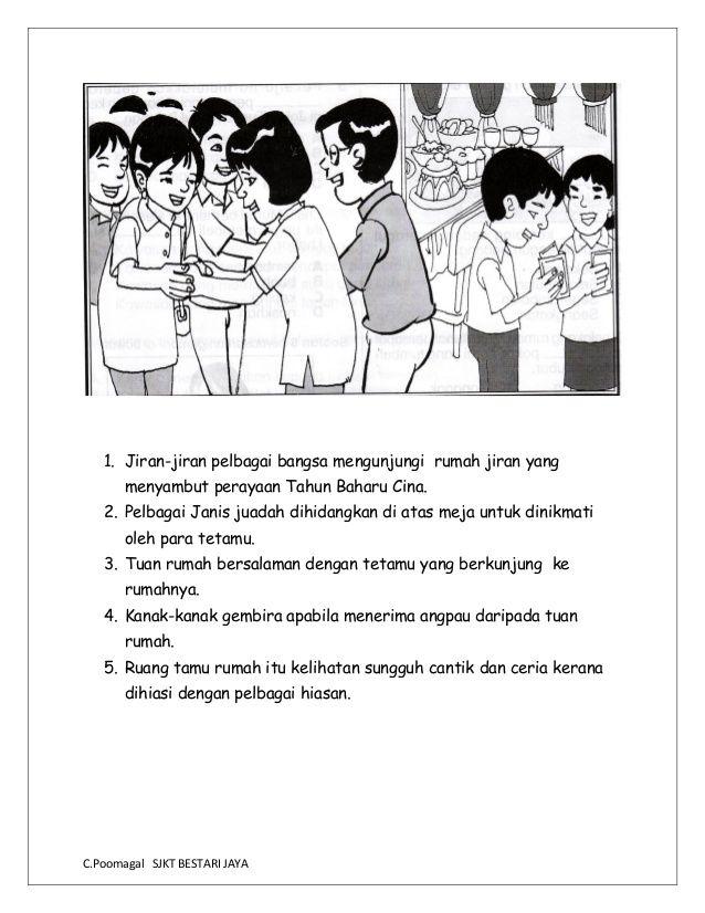 Bina Ayat Berdasarkan Gambar In 2020 Malay Language Study Materials Kids Learning