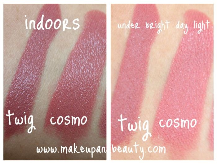 For consideration. Pinner says: Two of my favorite MAC lipsticks!!