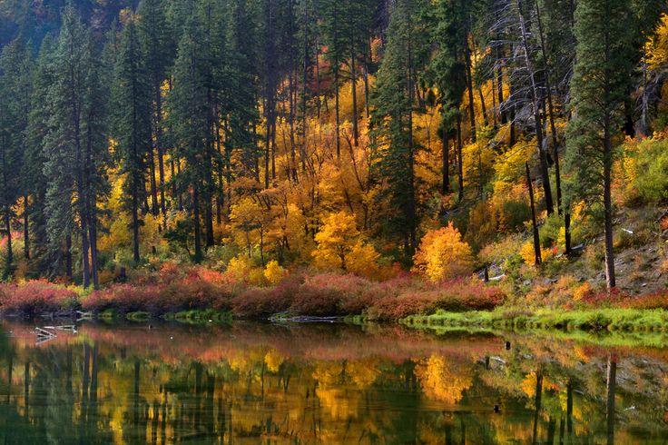 Fall in Washington State mountains