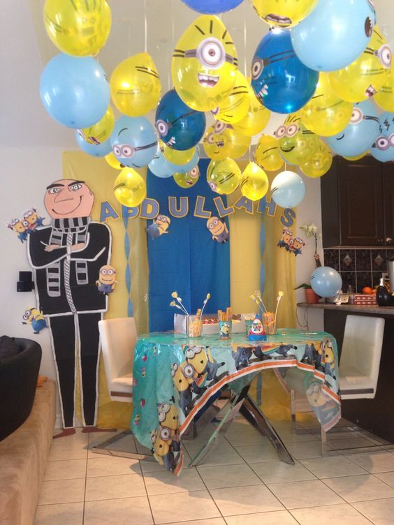 17 best decoraciones para fiestas infantiles de ni os - Decoracion pared ninos ...