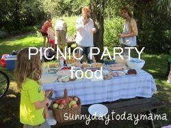 Picnic Party: food (and summer recipe links)