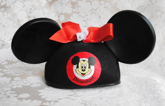 Vintage Mickey Mouse Ears Hat From The Estate Of a Disney Legend-Rare Opportunity: Disney Legend Rare, Disney Souvenirs, Legend Rare Opportunity, Vintage Mickey Mouse, Mickeymouse Ears, Disney Vacation, Mickey Mouse Ears