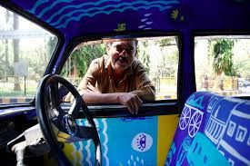 Image result for mumbai taxi seat cover art project