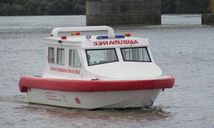 Ambulance Boat manufacturers India - SHM Group  SHM Group manufactures ambulance boat in India. Our ambulance boats are well equipped with advance life support equipment. Our life support equipment which include automated respirators, defibrillators,operating table,stretchers,drugs,etc.