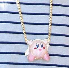 Chris Brown's 'Kirby' Necklace is Perfect for the Gamer at Heart trendhunter.com