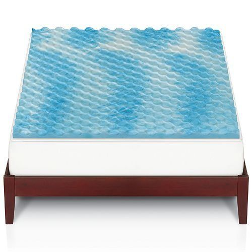 The One 1 Gel Memory Foam Mattress Topper Queen Bed Details Can Be Found By Clicking On Image