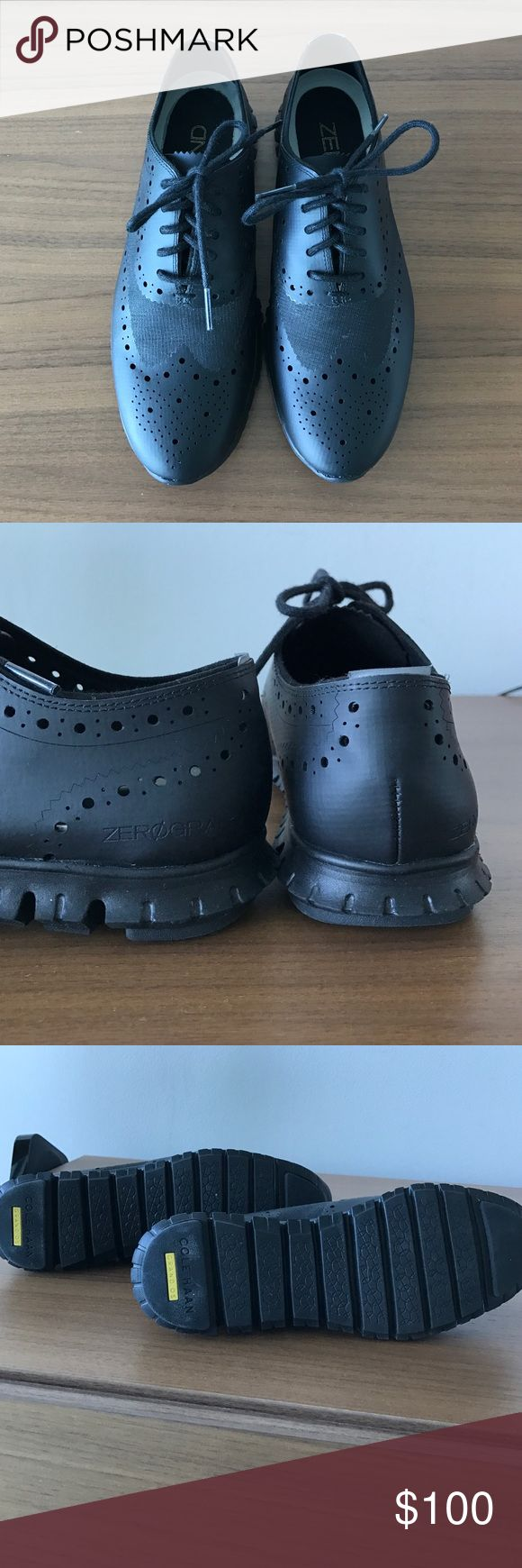 Cole Haan Zero Grand sneakers Wore once black Cole Haan Zero-Grand sneakers. Cole Haan Shoes Sneakers