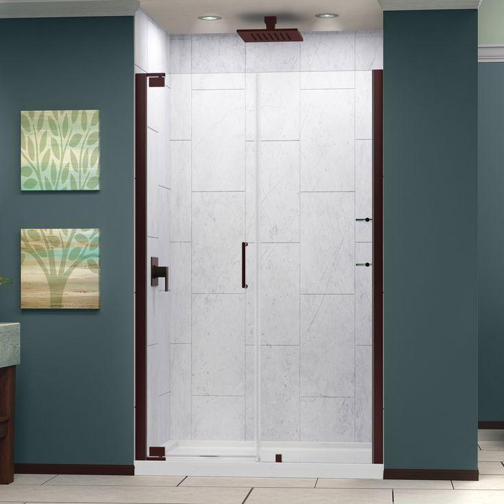 DreamLine Elegance 49.25 to 51.25-inch Frameless Pivot Shower Door