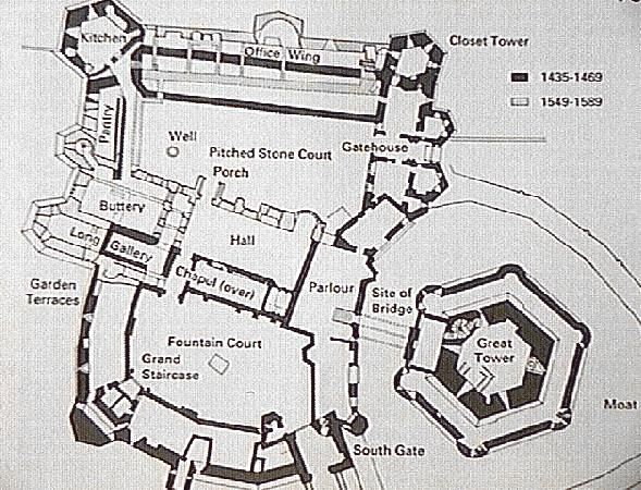 Any websites where i can find meval castle floor plans for 11th century castles floor plan