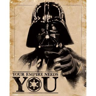 Plakat Mini STAR WARS CLASSIC - YOUR EMPIRE NEEDS YOU