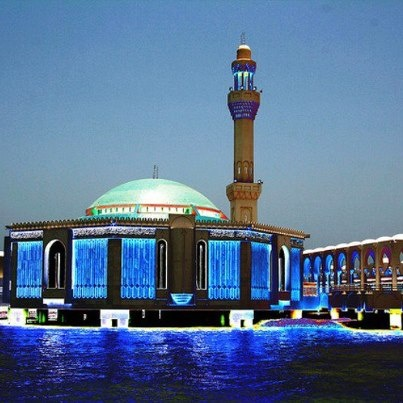 Floating Masjid, Jeddah (Saudi Arabia).