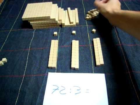 División pequeña con bloques multibase