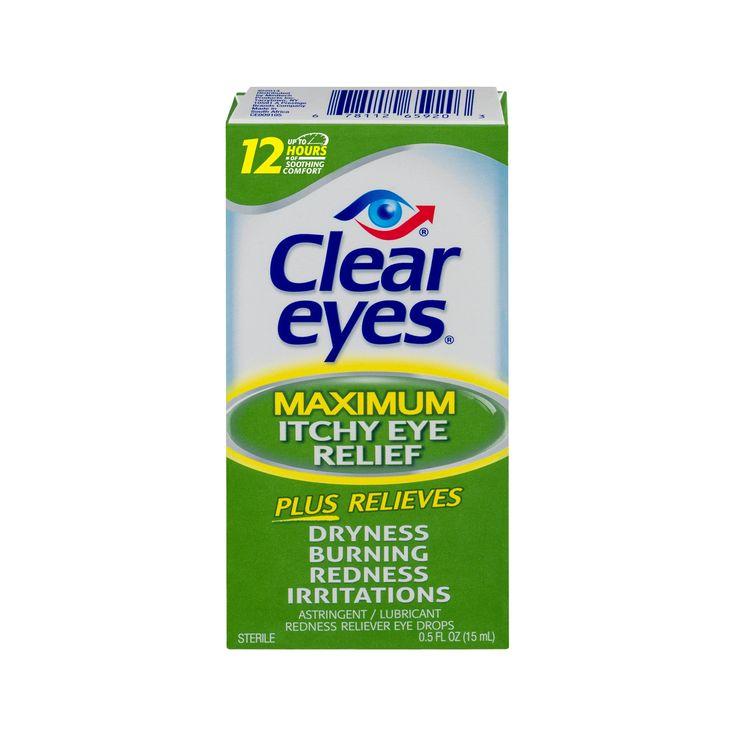 Clear Eyes .5 oz Max Itchy Eye