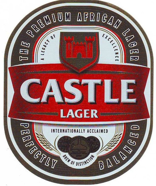 Castle Lager Label Tanzania