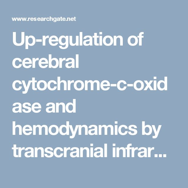 Up-regulation of cerebral cytochrome-c-oxidase and hemodynamics by transcranial infrared laser stimulation: A broadband near-infrared spectroscopy study