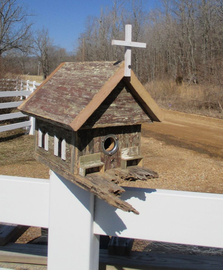 1000 images about for the birds on pinterest rustic - Old barn wood bird houses ...