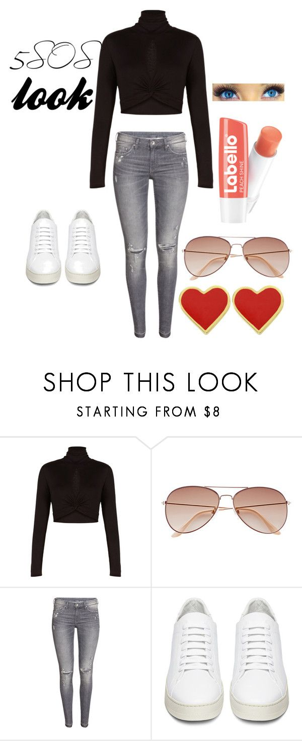 """5SOS concert look"" by lauraederveen on Polyvore featuring beauty, BCBGMAXAZRIA, H&M and Off-White"