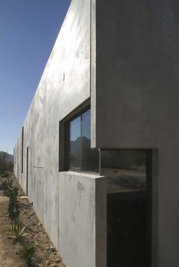A concrete house of art  A residence in Paradise Valley, AZ, USA, designed by Steven Holl Architects to house a contemporary art collection....