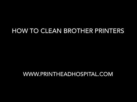 Brother Print Head Cleaning Kit for Brother Inkjet Printers - Printhead Hospital®