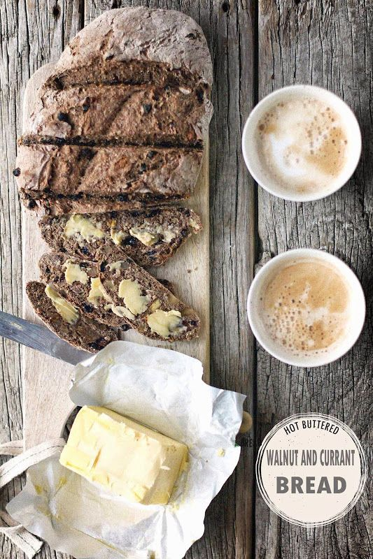 Walnut and Currant Bread