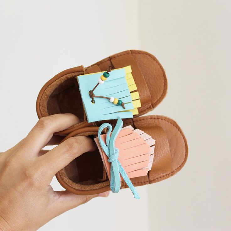 MINI SHUU | Sandalias, baby sandals, flip flops, leather, baby shoes, summer shoes