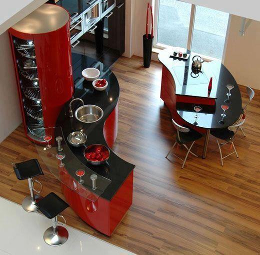 kırmızı-siyah-mükemmel-mutfak-örneği