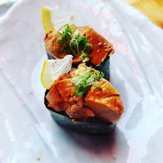#monkfish #liver #ankimo #nigiri #fresh #sushi #pittsburgh #cheflife #eeeeeats #izakaya #umamipgh