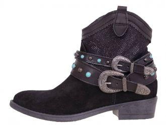 Dámská obuv TAMARIS 1-1-25704-22 BLACK COMB 098