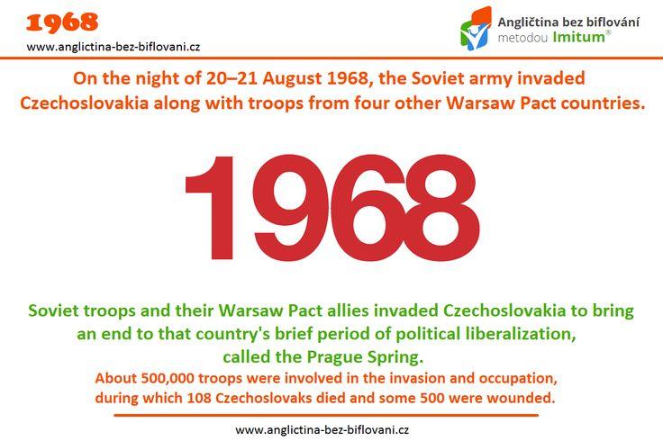 Černým okamžikem našich novodobých dějin je noc z 20. na 21. srpna 1968. 😰 V tuto dobu, bez vědomí tehdejší vlády, překročily armády pěti států Varšavské smlouvy, našich tehdejších spojenců, československé hranice. 💣🔫 #ceskoslovensko #okupace