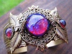 dragons breath opals  <3  so cool