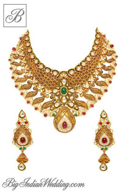 Notandas Jewellers gold bridal jewellery