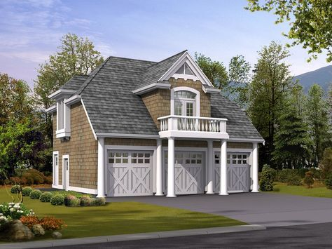 Plan 2394JD: Carriage House Apartment  ~ Great pin! For Oahu architectural design visit http://ownerbuiltdesign.com